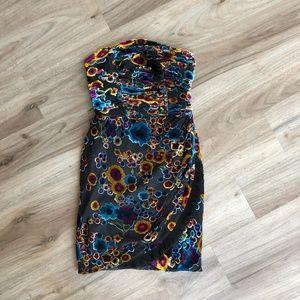 Juicy Couture Velvet Devore Dress Size 0